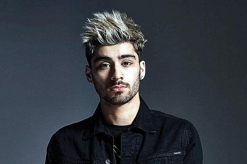 Singer Zayn Malik