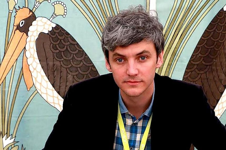 Rob Doyle is among the Irish writers invited to the ongoing Singapore Writers Festival as part of this year's country focus on Ireland.
