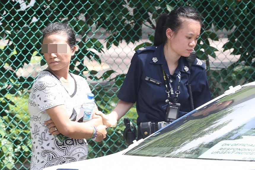 The woman and her male passenger were arrested for traffic-related and suspected drug-related offences.
