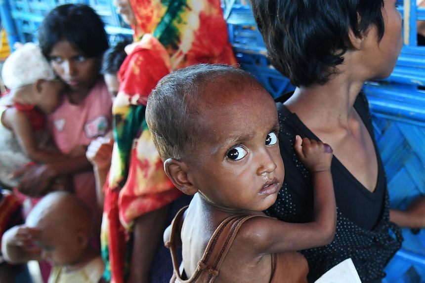 """More than 600,000 Rohingya have fled to Bangladesh since late August carrying accounts of murder, rape and arson at the hands of Myanmar's powerful army during a military crackdown dubbed as """"ethnic cleansing"""" by the UN."""