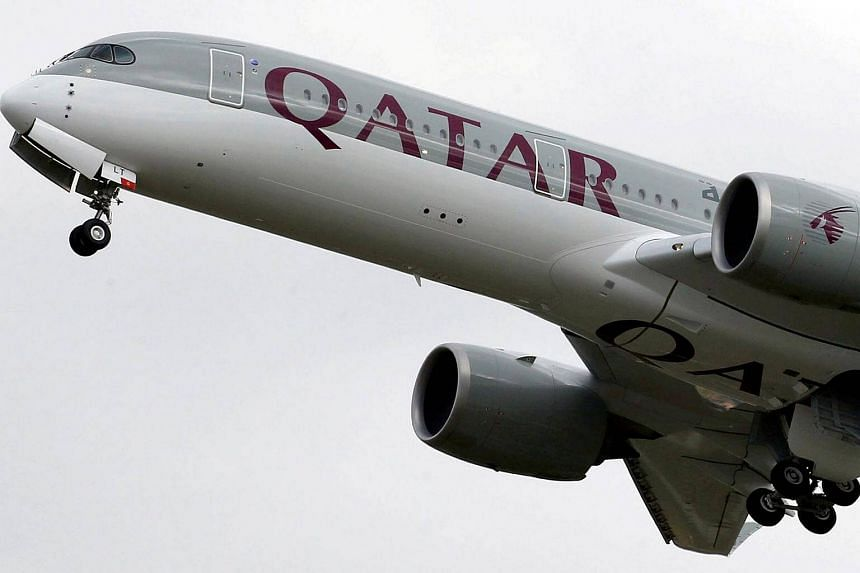 The woman, an Iranian national, was travelling from Doha to Bali with her husband and child on a Qatar Airways flight on Nov 5, 2017.