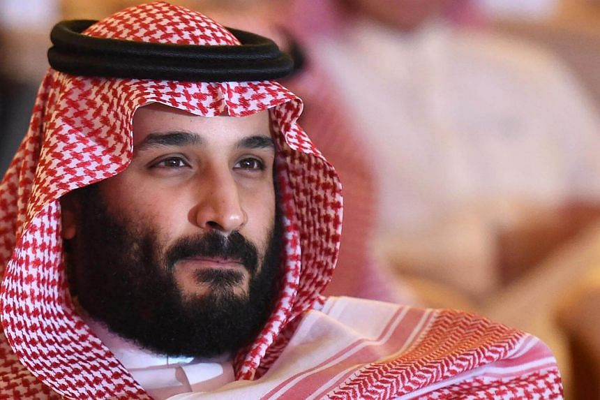 Saudi Crown Prince Mohammed bin Salman attends the Future Investment Initiative conference in Riyadh, on Oct 24, 2017.