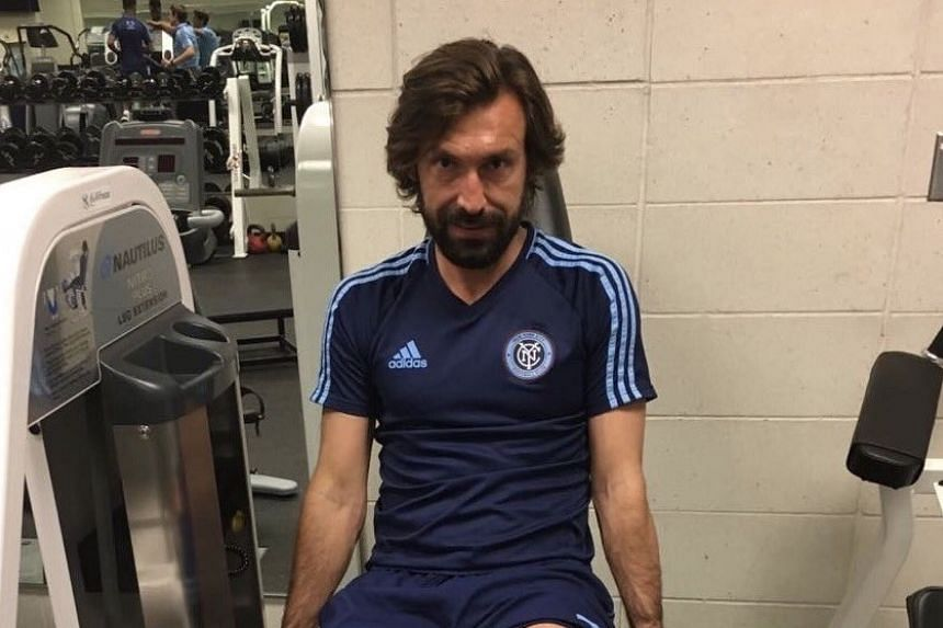 """""""Not only my adventure in NY comes to an end, but my journey as a football player as well,"""" Pirlo wrote on his Twitter account."""