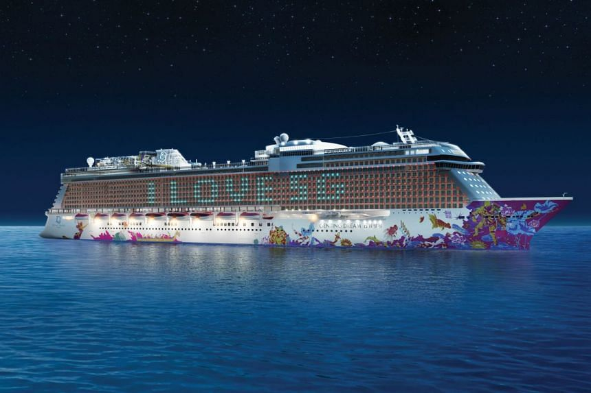 Set sail in November on board Genting Dream. PHOTO: Dream Cruises