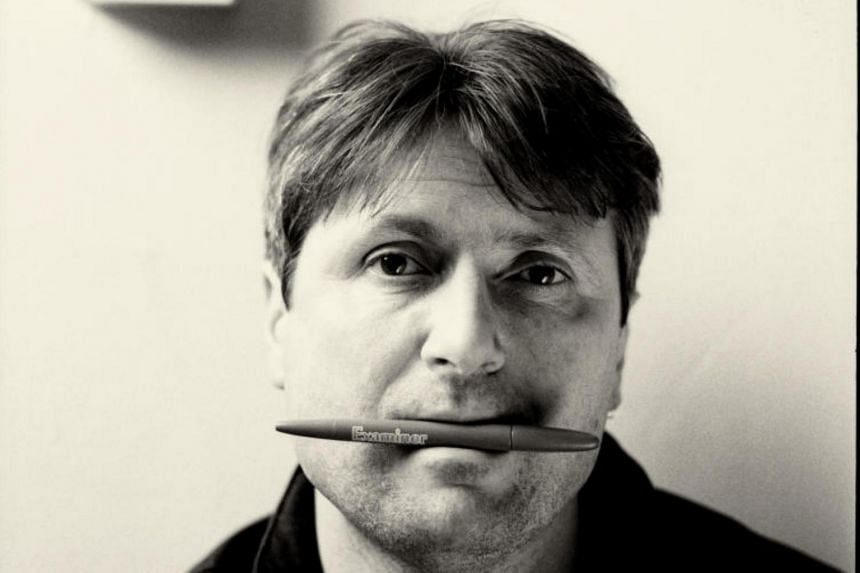 British poet Simon Armitage, 54, was in town over the weekend to speak at the Singapore Writers Festival.