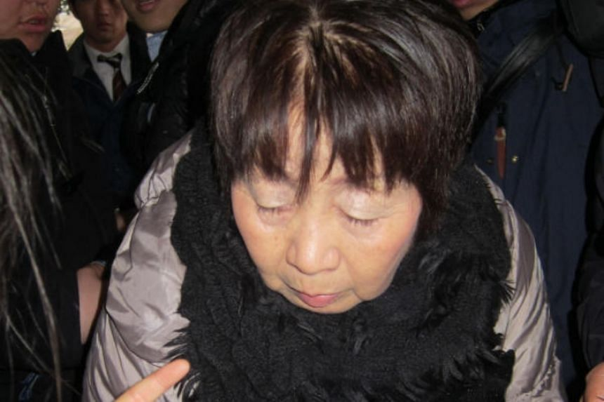 """Chisako Kakehi, known as """"Black Widow"""", was sentenced to death for poisoning four elderly men with cyanide."""