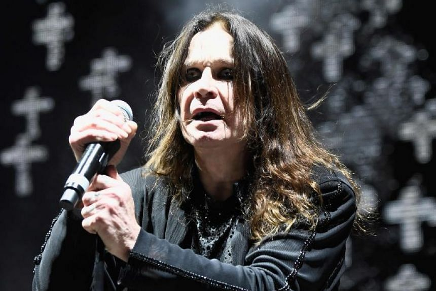 Ozzy Osbourne performing with Black Sabbath at Ozzfest 2016 at San Manuel Amphitheater in Los Angeles.