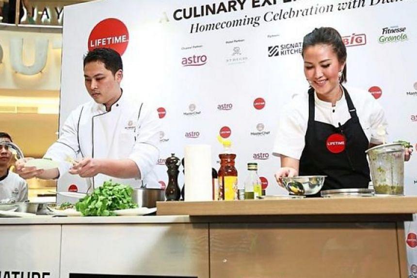 Melbourne-based Malaysian Diana Chan, who won Season 9 of MasterChef Australia, was in Kuala Lumpur to greet fans.