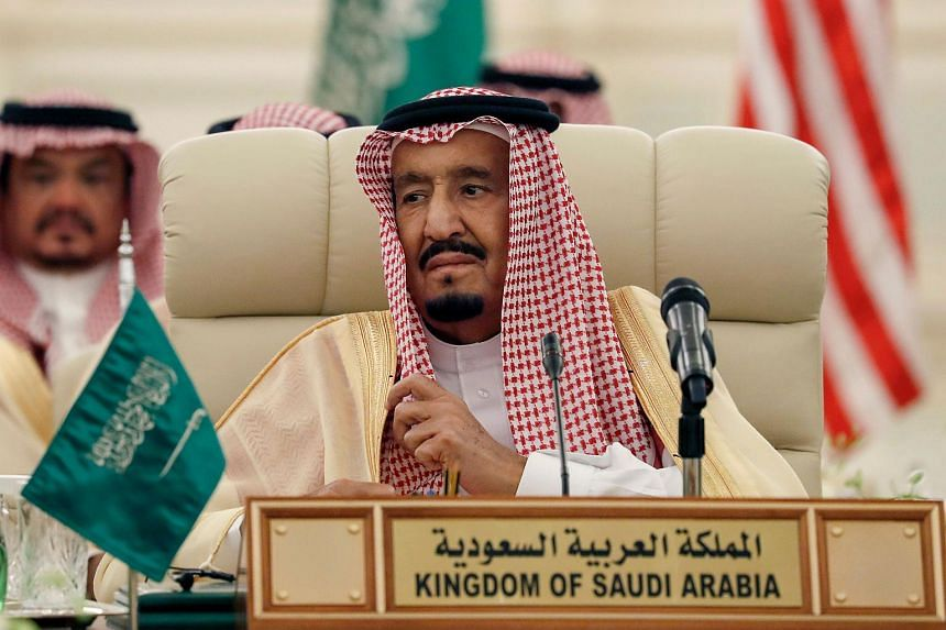 The detentions ordered by King Salman (above) reinforced speculation that he was clearing any remaining obstacles to his son Crown Prince Mohammed bin Salman's accession to the throne.