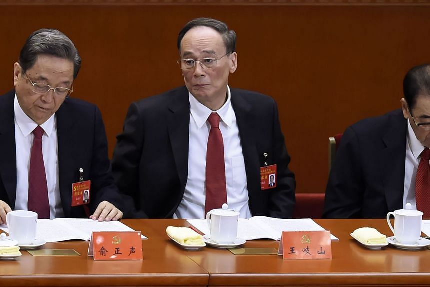 Wang Qishan stepped down in a leadership reshuffle last month at the end of the five-yearly Communist Party Congress.