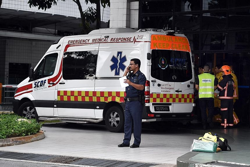 Currently, drivers of Singapore Civil Defence Force ambulances are liable for traffic offences when they run a red light or make an unauthorised U-turn, although they can file an appeal and get a waiver. With the change, they no longer have to do so.