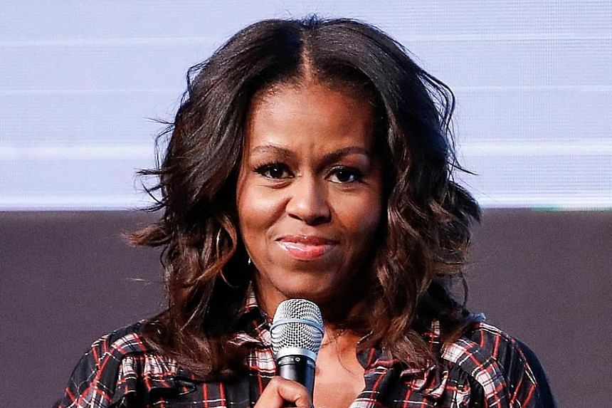 FORMER UNITED STATES FIRST LADY MICHELLE OBAMA