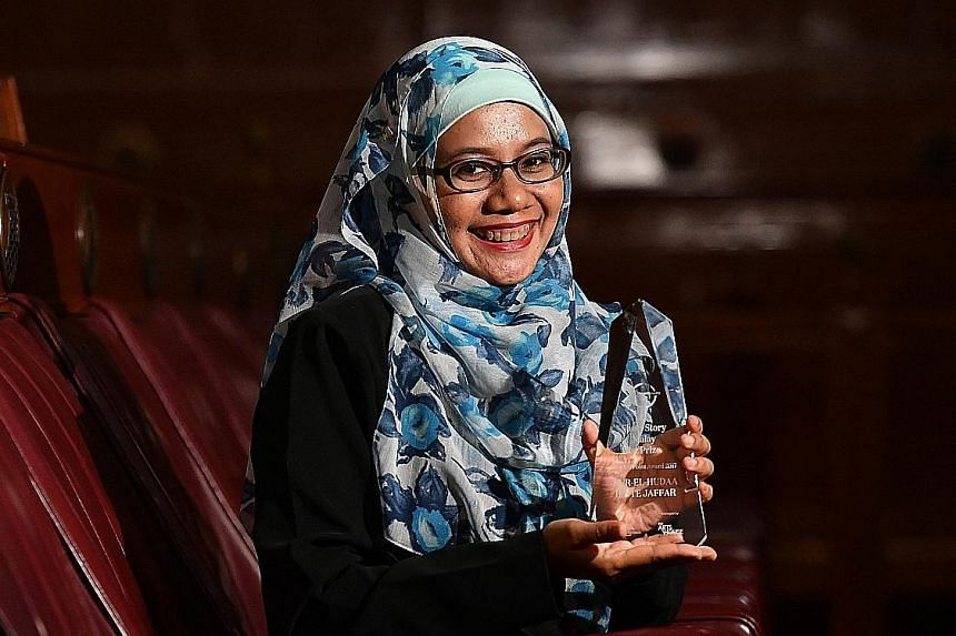 """Nur-El-Hudaa Jaffar's winning story was lauded for its """"sharp and controlled prose, confident tone and deft use of irony""""."""