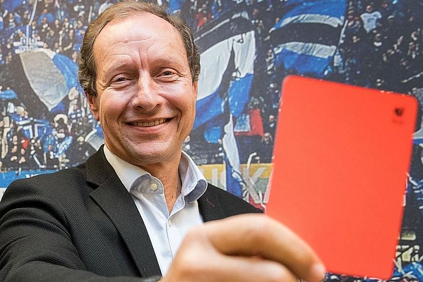Accusations of impropriety have cost Hellmut Krug, head of the VAR system in the German Bundesliga, his job after the Schalke fan was deemed to have influenced penalty decisions in the club's favour.