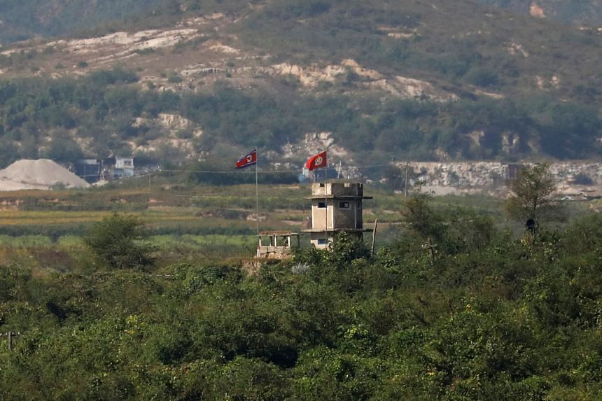 North Korea's propaganda village of Gijungdong. China says it fully and strictly implements UN Security Council resolutions on North Korea and will investigate if there are activities that contravene resolutions.