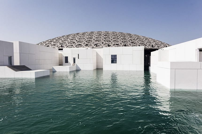 The new Louvre Abu Dhabi museum will open to the public on Saturday.