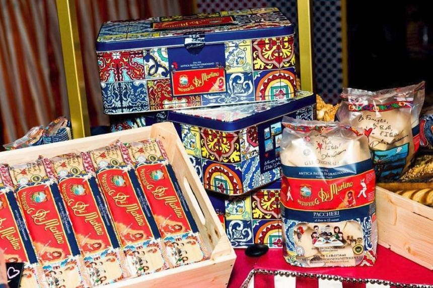 Only 5,000 tins of the pastas by Dolce & Gabbana and venerable Italian pastamaker Pastificio Di Martino will be available.
