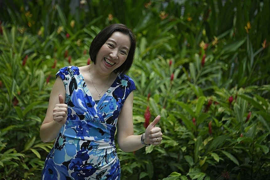 Madam Cindy Fok, who is a vice-president in a bank, will travel to Margaret River in Western Australia with her husband.