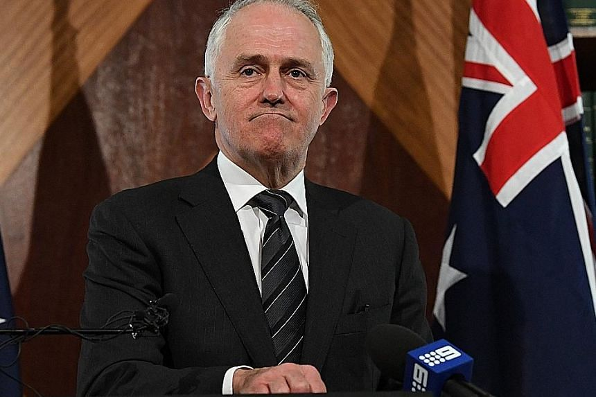 Mr Malcolm Turnbull has come under heavy criticism for his handling of the dual-citizenship crisis, and there are murmurings of a party revolt.