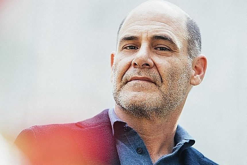 Matthew Weiner (left) has written Heather, The Totality (above), a psychological thriller about a New York family whose lives intersect with a sociopathic construction worker.