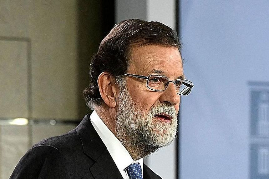 "CRUCIAL VOTE: ""I hope we see a massive turnout... I hope people understand the importance of this election."" - PRIME MINISTER MARIANO RAJOY"