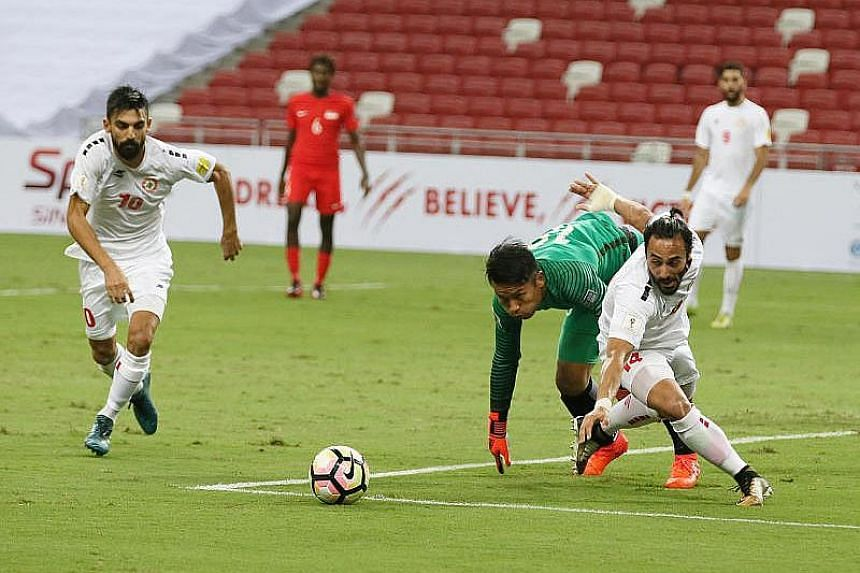 The game against Lebanon is a warm-up for next Tuesday's Asian Cup qualifier against Bahrain.