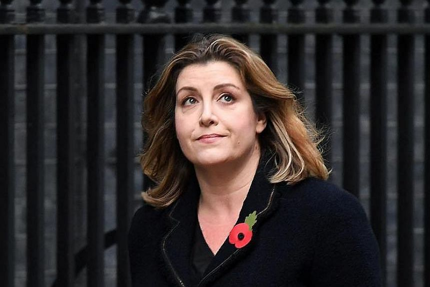 British Member of Parliament Penny Mordaunt arrives at 10 Downing Street in London, Britain on Nov 9, 2017.