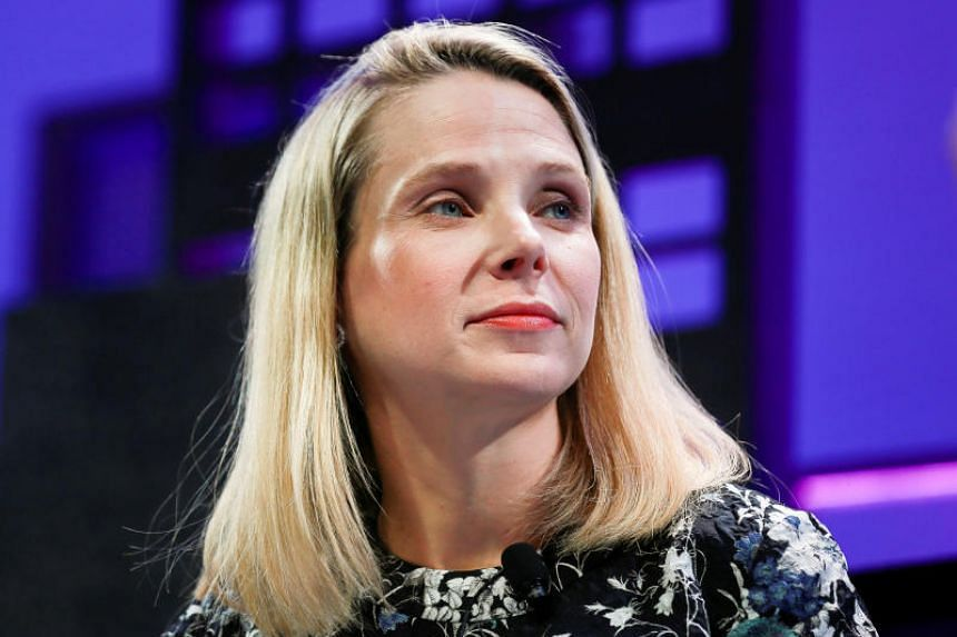 Marissa Mayer, President and CEO of Yahoo, participates in a panel discussion at the 2015 Fortune Global Forum in San Francisco, California, US on Nov 3, 2015.
