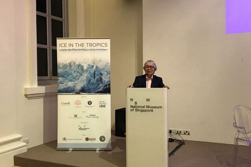 "Singapore has many ""defensive and aggressive"" interests in the Arctic, said Ambassador-at-Large Tommy Koh at a seminar on Arctic developments at the National Museum of Singapore."