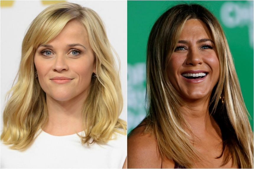 Apple lands a new drama starring Reese Witherspoon (left) and Jennifer Aniston.