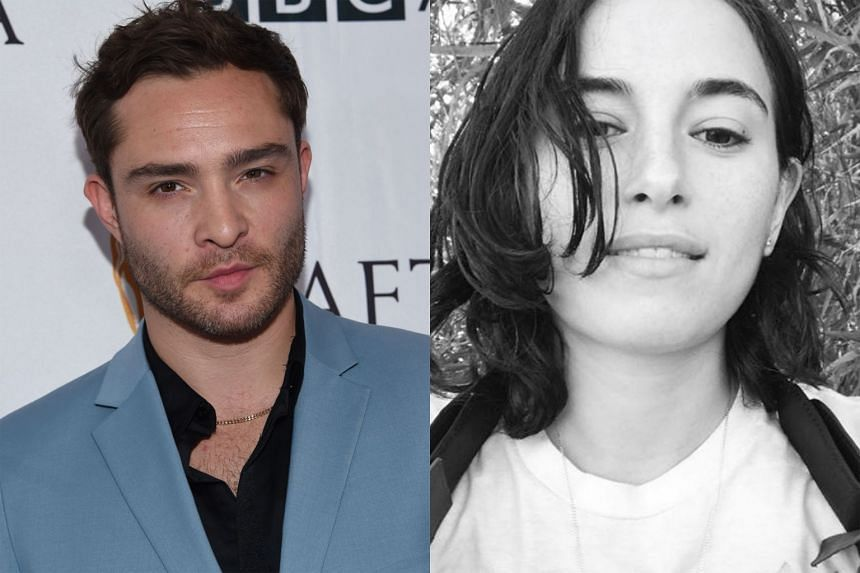 Ed Westwick (left) and Kristina Cohen