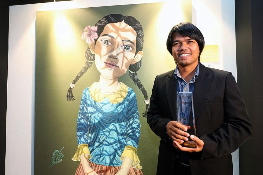 Sukit Choosri is the first Thai artist to win the award since it was first given in 2013.