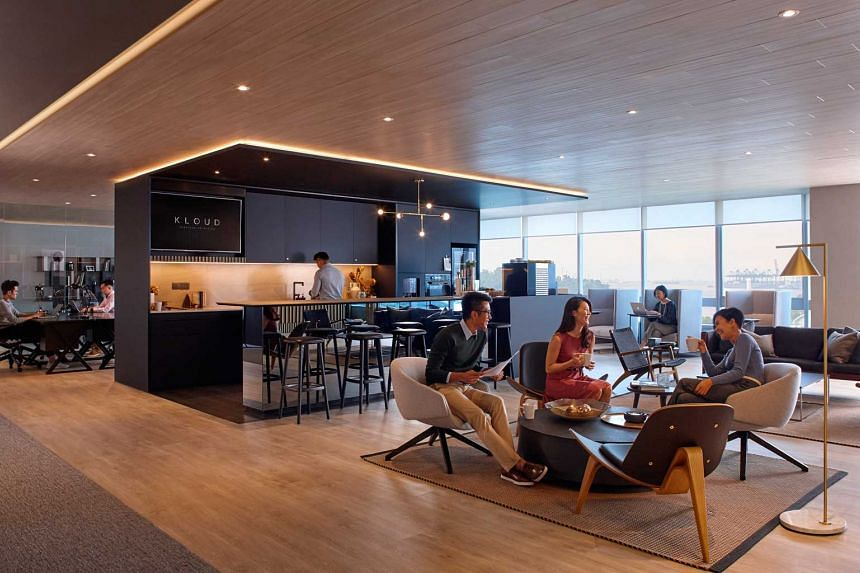 Keppel Land's premium integrated workspace solution under the KLOUD brand.