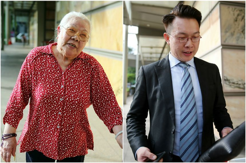 A four-day hearing into the suit filed by Madam Lim Hoon Neo (left) against her 39-year-old grandson Ang Wee Chai, began in the High Court on Wednesday (Nov 8).