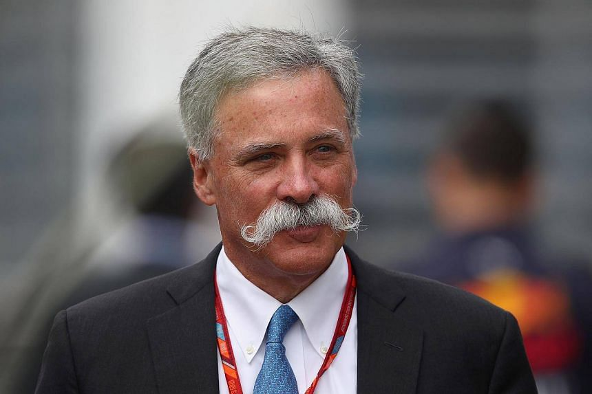 Executive Chairman Chase Carey of the Formula One Group walks in the Paddock before the Formula One Grand Prix of Mexico at Autodromo Hermanos Rodriguez in Mexico City.