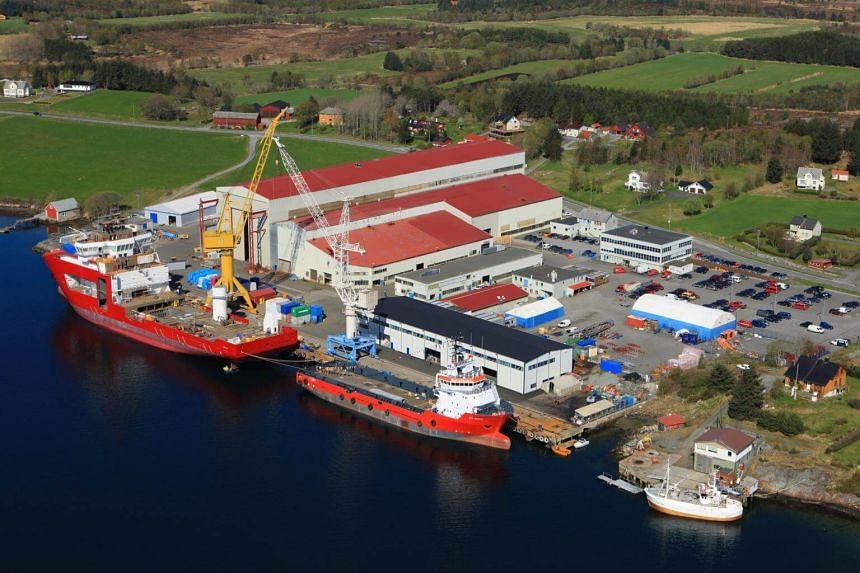 The VARD Aukra shipyard in Norway.