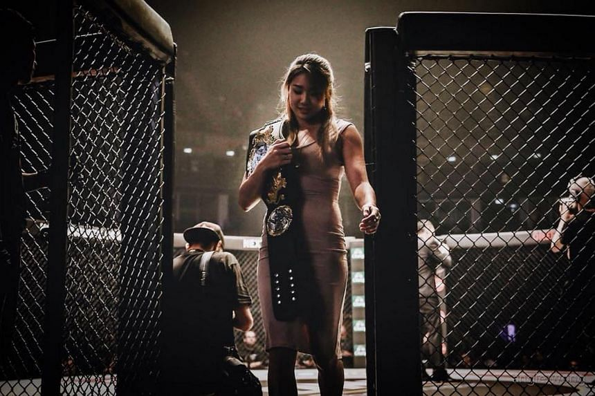 Mixed martial arts (MMA) star Angela Lee was involved in a car accident on Monday (Nov 7) in Oahu, Hawaii.