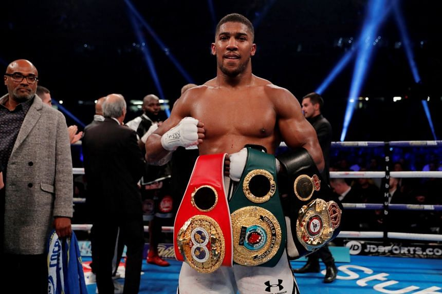 World heavyweight champion Anthony Joshua goaded his rivals in a series of provocative Twitter posts on Nov 9, 2017, as he looks to line up his next fight.