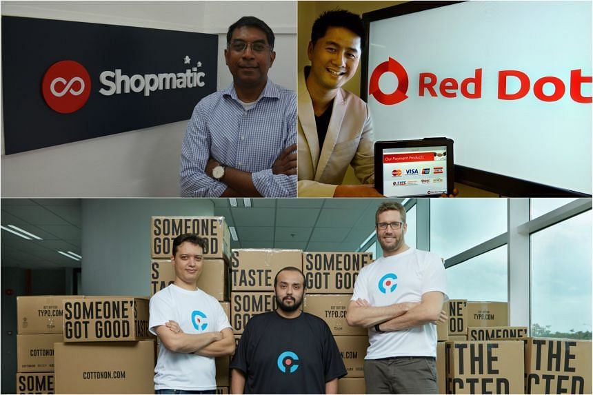 Three small and medium-sized enterprises (SMEs) - Shopmatic, Red Dot Payment, and iCommerce Asia - have joined forces to land their first $100,000 e-commerce deal in South-east Asia.