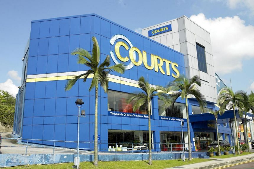 Electronics, information technology and furniture retailer Courts Asia stumbled in the second quarter, as its profit margins in Singapore were hurt by sales promotions undertaken earlier this year.