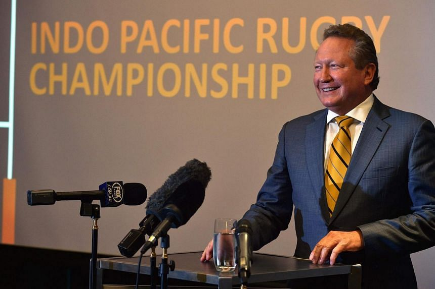Australian mining magnate Andrew Forrest introduced the new competition in September in response to the Australian Rugby Union's axing of Western Australian side Western Force from next year's Super Rugby competition.