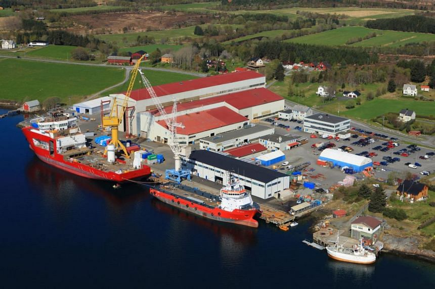 Norwegian shipbuilder Vard Holdings recorded an operating loss of 9 million kroner in the quarter, down from 45 million in the year-ago period.