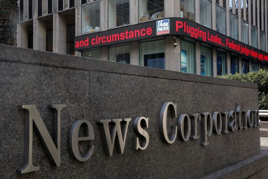 US media group News Corp said its revenues and operating income grew in all segments, including its real estate websites.