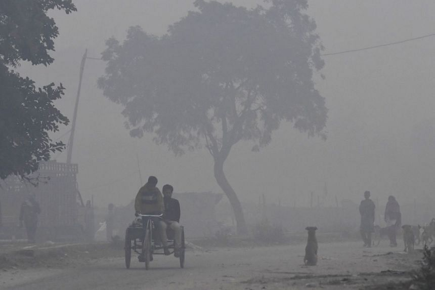 A toxic smog has smothered and triggered a pollution emergency in New Delhi this week.