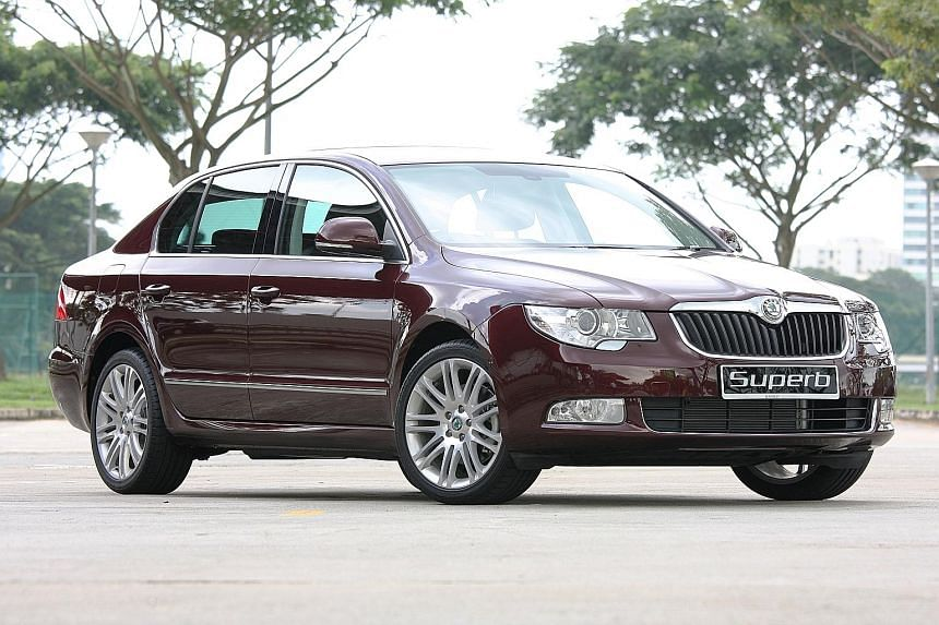 The best year for the Skoda brand in Singapore was 2010, when it sold 105 cars.