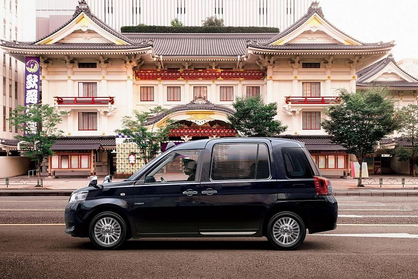 Apart from having a built-in ramp for wheelchair users, the JPN Taxi has limo-like legroom and a pair of USB charging points for gadgets.