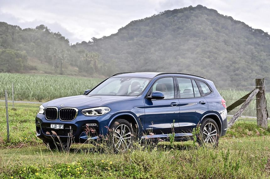 The xDrive30i offers plenty of grip on winding roads.