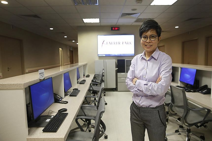 Ms Wong Ching Yee, 40, left the chemical engineering industry nine years ago. She is now a nursing informatics application specialist at Farrer Park Hospital.