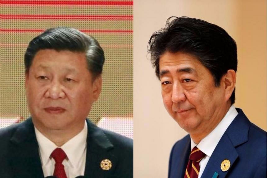 Chinese President Xi Jinping and Japanese Prime Minister Shinzo Abe met on the sidelines of the Apec summit.