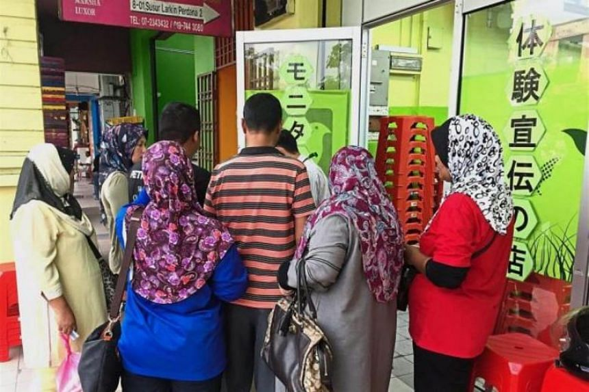 """A shop that sells Japanese healthcare and home products in Larkin Perdana, Johor Baru, has raised eyebrows with its """"Bahasa Malaysia only"""" notice."""